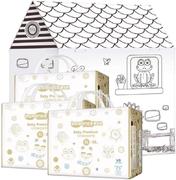 Inseense V8 Baby Premium Underpants набор (подгузники-трусики + картонный домик+ восковые мелки)