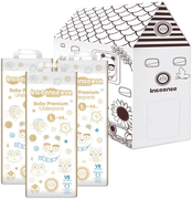 Inseense V8 Baby Premium Underpants набор (подгузники-трусики + картонный домик)