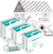 Inseense Q5S/Добрая Сказка/Алоэ набор (подгузники + картонный домик + влажные салфетки)