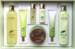 Deoproce Premium Green Tea Total Solution 5 Set уходовый набор для лица с экстрактом зеленого чая
