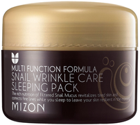 Mizon Snail Wrinkle Care Sleeping Pack маска ночная с экстрактом улитки