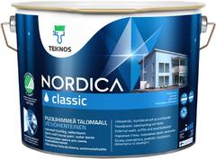 Текнос Nordica Classic полуматовая краска для домов водоразбавляемая