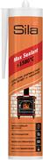 Sila Pro Max Sealant +1500 герметик силикатный для печей и каминов