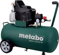 Метабо Basic 250-50 W масляный поршневой компрессор