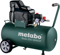 Метабо Basic 250-50 W OF поршневой безмасляный компрессор