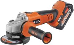 AEG BEWS 18-115X LI-502C аккумуляторная угловая шлифмашина