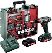 Metabo BS 18 Quick Set аккумуляторная дрель-шуруповерт