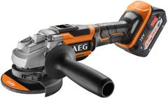 AEG BEWS 18-115BL LI-502C аккумуляторная угловая шлифмашина