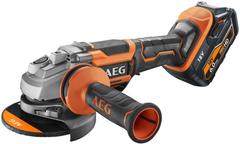 AEG BEWS 18-125BL PX-602C бесщеточная угловая шлифмашина
