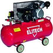 Elitech КПР 100/400/2.2 масляный поршневой компрессор