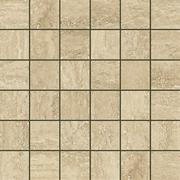 Италон Traventino Travertino Romano 610110000075 мозаика (300 мм*300 мм)