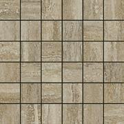 Италон Traventino Travertino Silver 610110000076 мозаика (300 мм*300 мм)