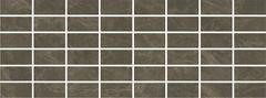 Kerama Marazzi Лирия Декор Лирия Коричневый Мозаичный MM15139 декор (150 мм*400 мм)