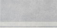 Kerama Marazzi Королевская Дорога Ступень Королевская Дорога Серый Светлый SG614800R/GR ступень (300 мм*600 мм)