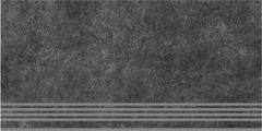 Kerama Marazzi Королевская Дорога Ступень Королевская Дорога Черный Обрезной SG615000R/GR ступень (300 мм*600 мм)