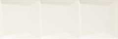 Paradyz Maloli Maloli Bianco Sciana C Struktura плитка настенная (200 мм*600 мм)
