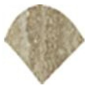 Италон Traventino Travertino Silver 600090000289 вставка (10 мм*10 мм)
