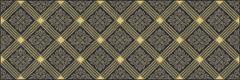 Laparet Royal Royal Черный AD/B483/60045 декор (200 мм*600 мм)
