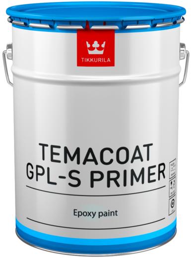 Темакоут гпл-с праймер двухкомпонентная толстослойная эпоксидная грунтовочная с фосфатом цинка 20 л база tch