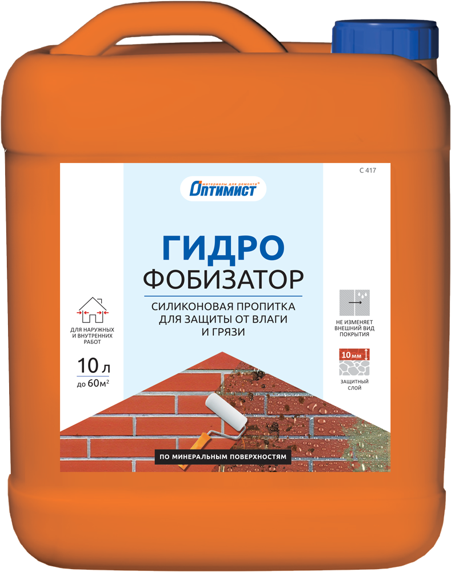 C 417 силиконовая пропитка для защиты от влаги и грязи 1 л