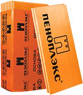 Основа теплоизоляционная из экструдированного пенополистирола 0.6*1.2 м/20 мм
