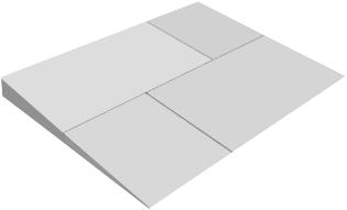 Carbon prof slope j теплоизоляционная из экструзионного пенополистирола 0.6*1.2 м/10 мм, 30 мм