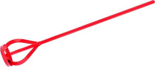 <p>Тип: Миксер для красок и штукатурных смесей.</p><p>Назначение: Предназначен для приготовления лакокрасочных материалов, сухих строительных смей и гипса.</p><p>Свойства:<ul><li>Насадка оцинкованная.<br /></li><li>Шестигранный хвостовик надежную фиксисрует миксер в электроинструменте.<br /></li><li>Перемешивание смеси происходит в направлении снизу вверх.<br /></li></ul></p>