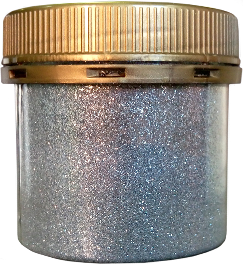 Paillette для добавления в лак-оcнову brilliance 30 г glitter argento